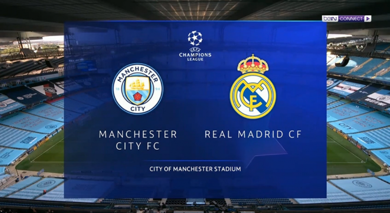 مانشستر سيتي ضد ريال مدريد